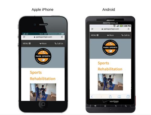 mobile landing page optimization