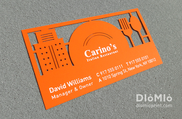 Top 27 Restaurant Business Card Designs from Around the Web