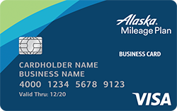 Bank of America® Alaska Airlines Business Card best small business credit card