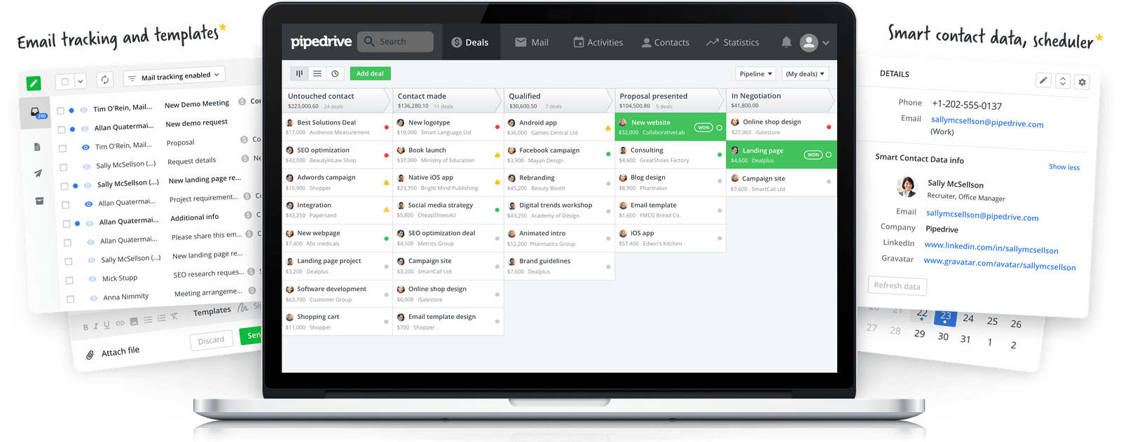 Pipedrive - property management CRM dashboard