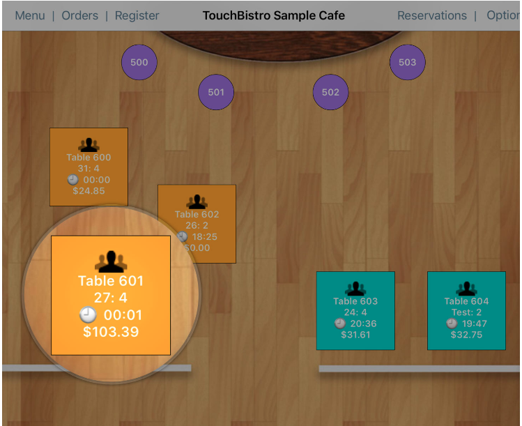 TouchBistro - restaurant management software