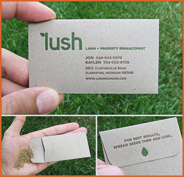 landscaping business cards - 27 Unique Landscaping Business Cards Ideas & Examples