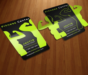 etadam - personal trainer business cards