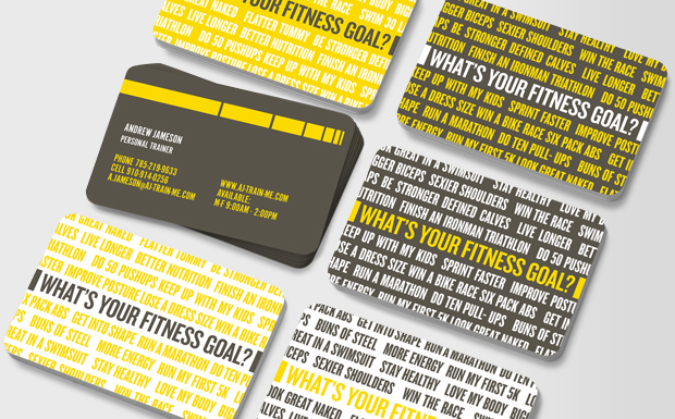 Moo - Fitness Professional Business Cards - personal trainer business cards