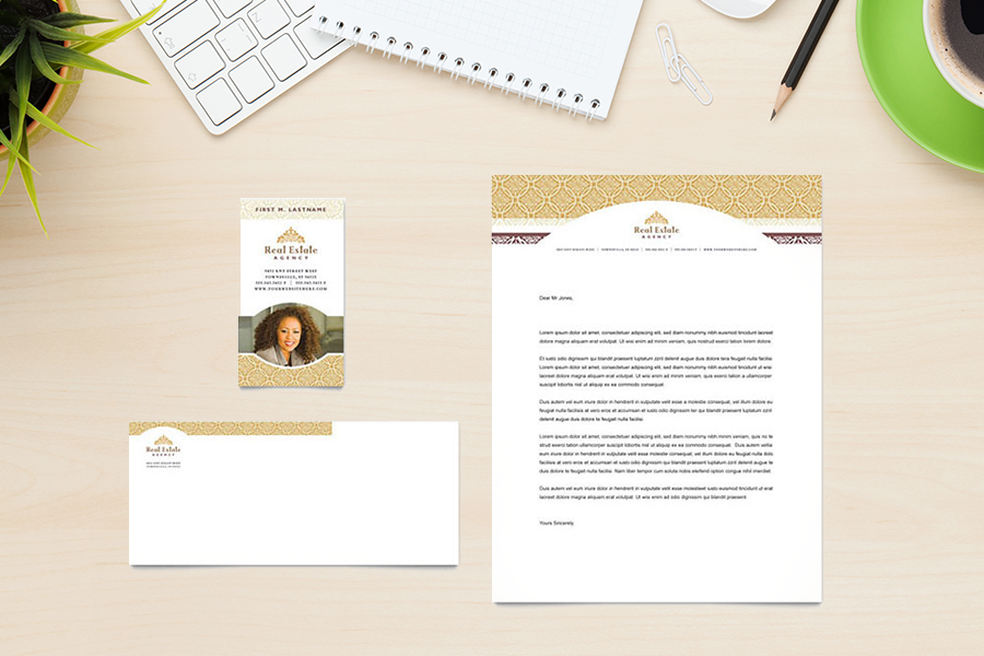 20 best real estate letterhead stationery templates