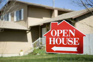 Open House Signboard