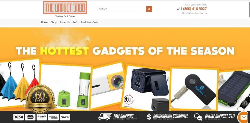 Screenshot Storefront Style Website of Goetz