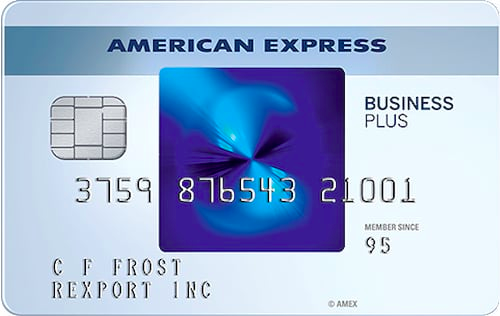 American Express Blue Business Plus - business credit cards for new business