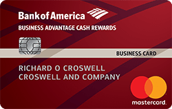 Bank of America Business Advantage Cash Rewards Mastercard - business credit cards for new business