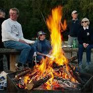 Light Up a Year-End Bonfire in the Parking Lot - holiday party Ideas