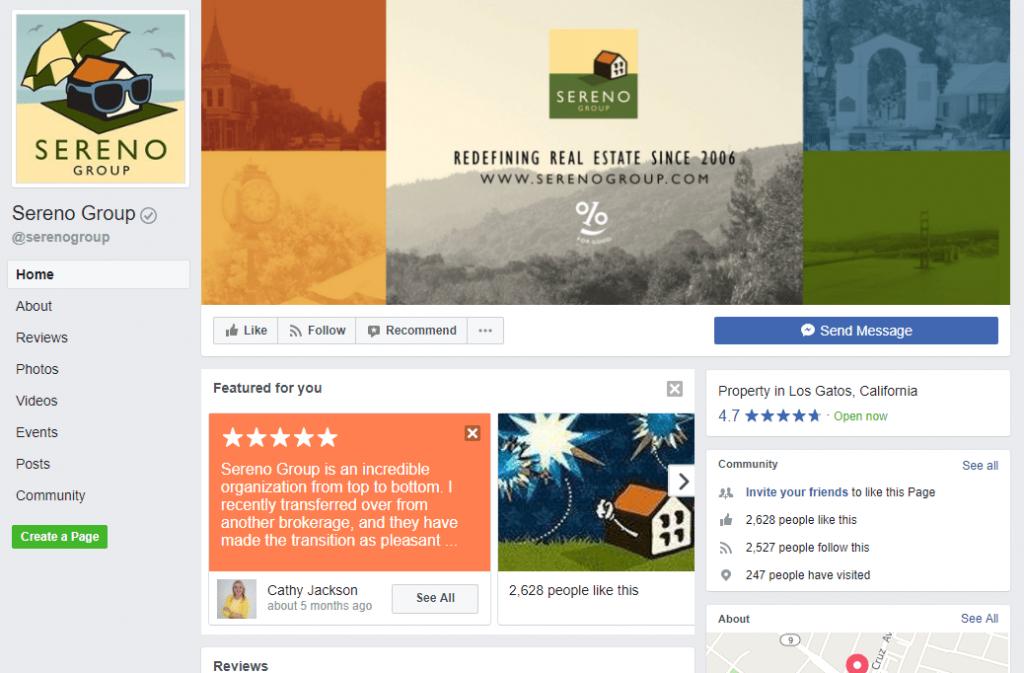 realtor facebook page
