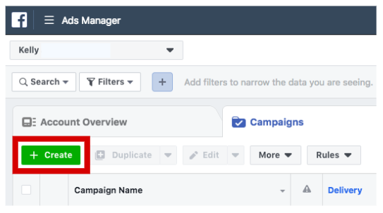 how to find manage ads in facebook