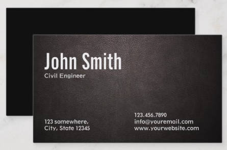 engineering business cards