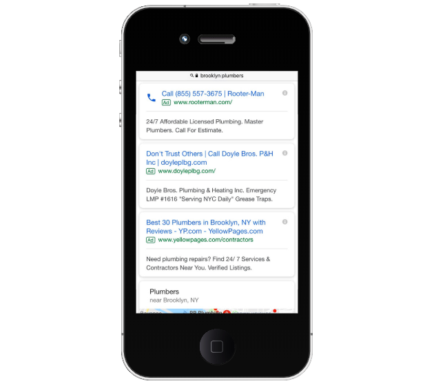 Google Ads on Mobile Device - advertise on google/how to advertise on google