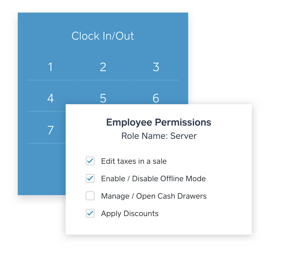 Square for Restaurant Custom Employee Permissions - square for restaurants