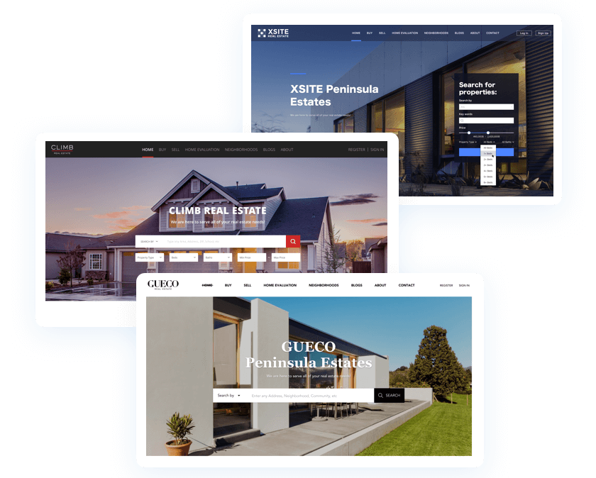 Chime - real estate web design