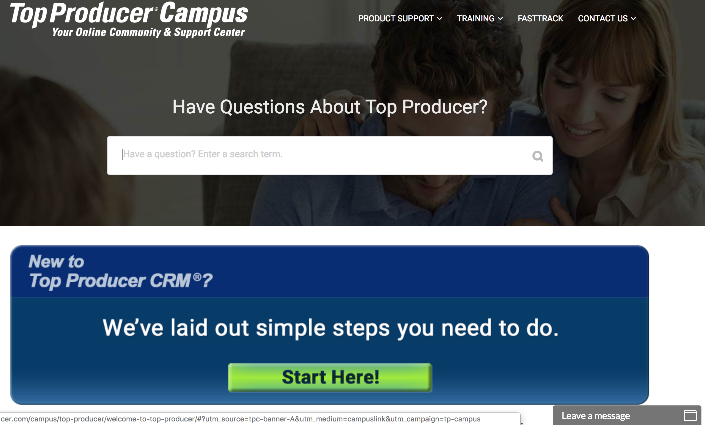 Top Producer Campus - liondesk vs top producer