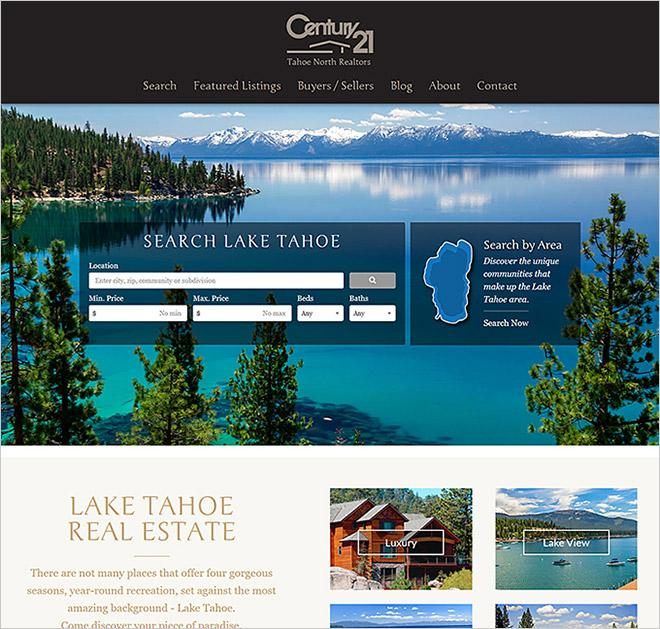 IDXCentral - real estate web design