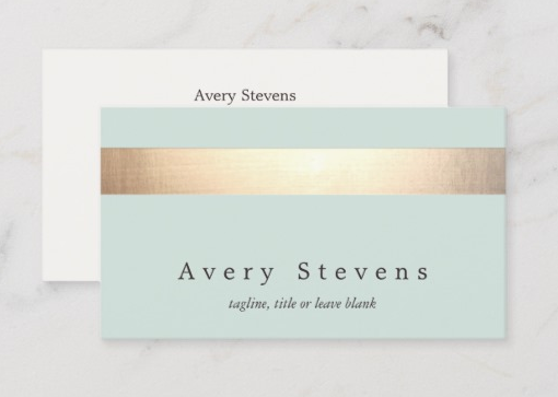 Opt for an Elegant and Classy Look - makeup artist business cards