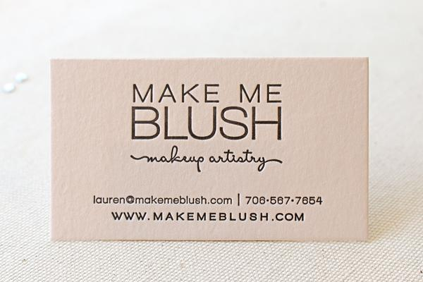 Make a Statement - makeup artist business cards