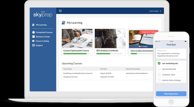 Skyprep - Learning Management System