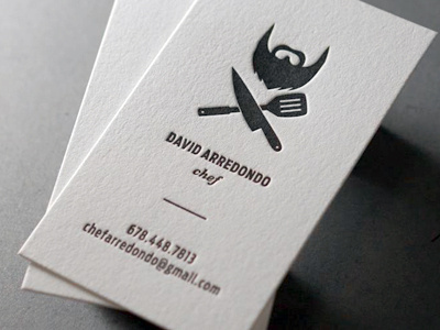 Top 25 Examples Of Professional Chef Business Cards