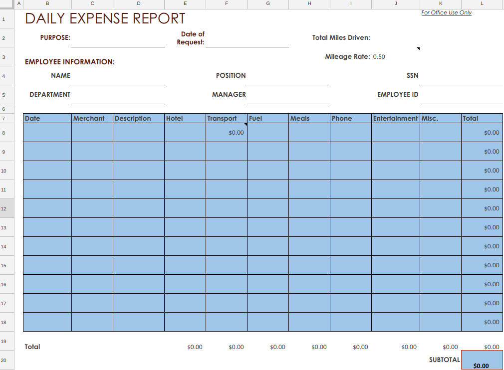How to Create an Expense Report Policy [+ Free Template]