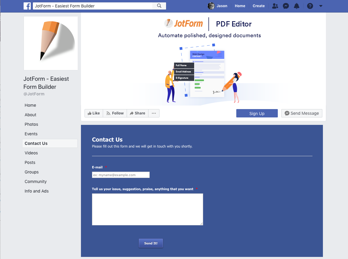 JotForm - lead generation software