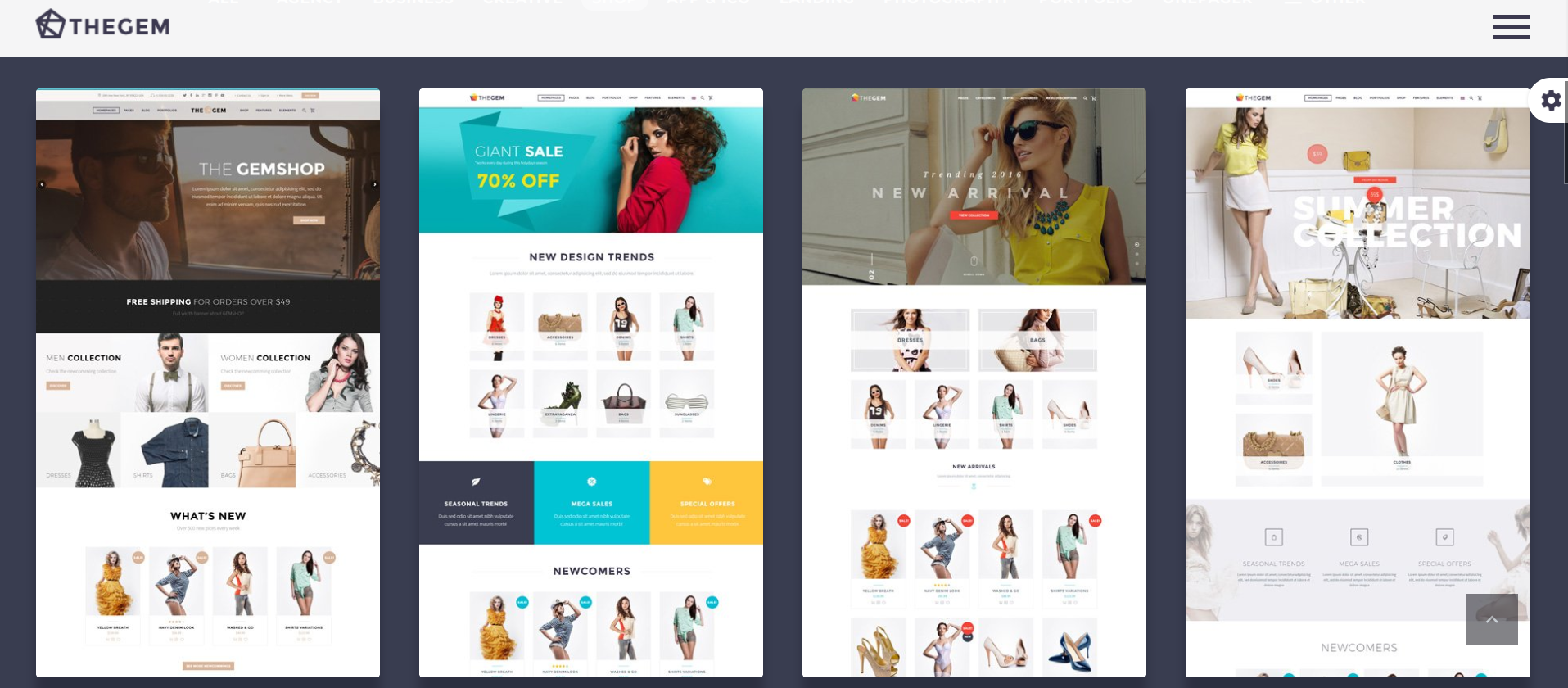 CodexThemes - The Gem - wordpress ecommerce themes