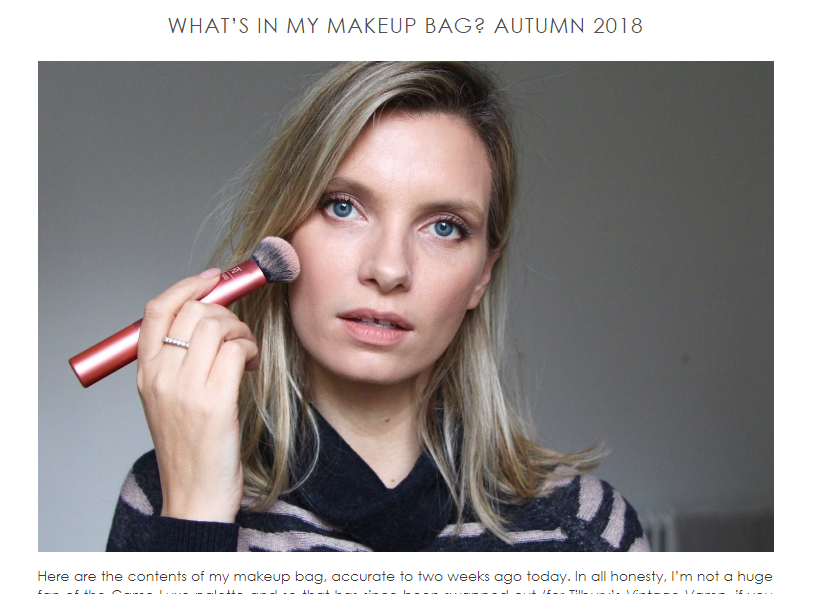 beauty blog ideas - Tips from the pros