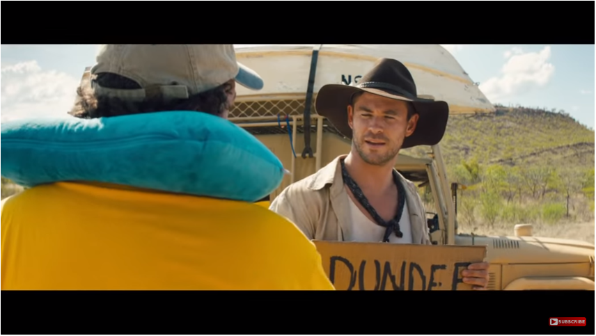 Spoof Crocodile Dundee Sequel by Tourism Australia - viral marketing examples