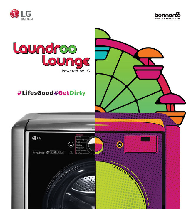 LG's Laundry Pop-up - viral marketing examples