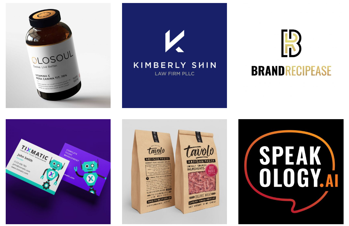 Packaging ideas and logos