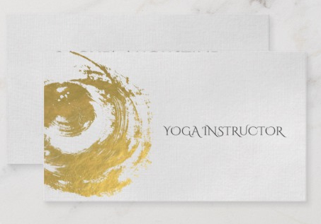 25 Inspiring Yoga Business Cards From Around The Web