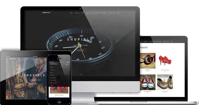 ShopIsle - wordpress ecommerce themes