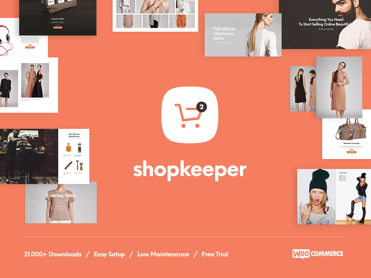 Shopkeeper - wordpress ecommerce themes