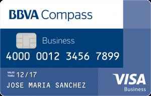 BBVA Compass Secured Visa® Business Credit Card