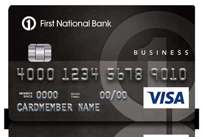 First National Bank of Omaha Business Edition Visa Card