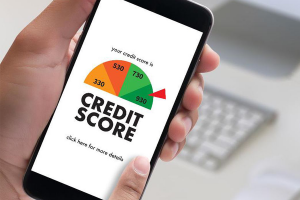 checking how credit inquiry affects credit score on mobile