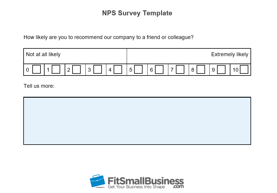 NPS Survey Template