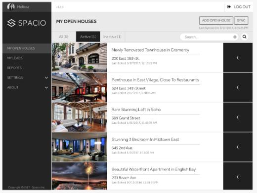 Spacio - real estate software