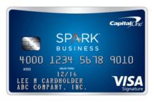 Capital One - Spark Miles Select Credit Card - business credit cards for startups
