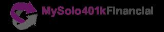 MySolo401kFinancial Logo