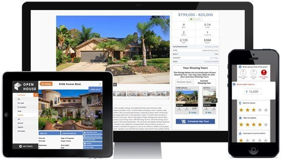 Showing Suite - real estate software