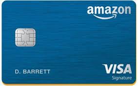 Amazon - Rewards Visa Signature Card - best credit cards for amazon