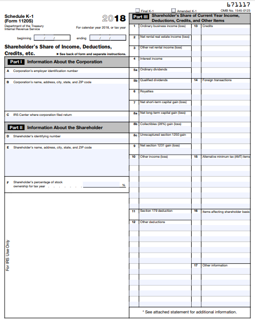 IRS Form 1120S: Definition, Download, & 1120S Instructions