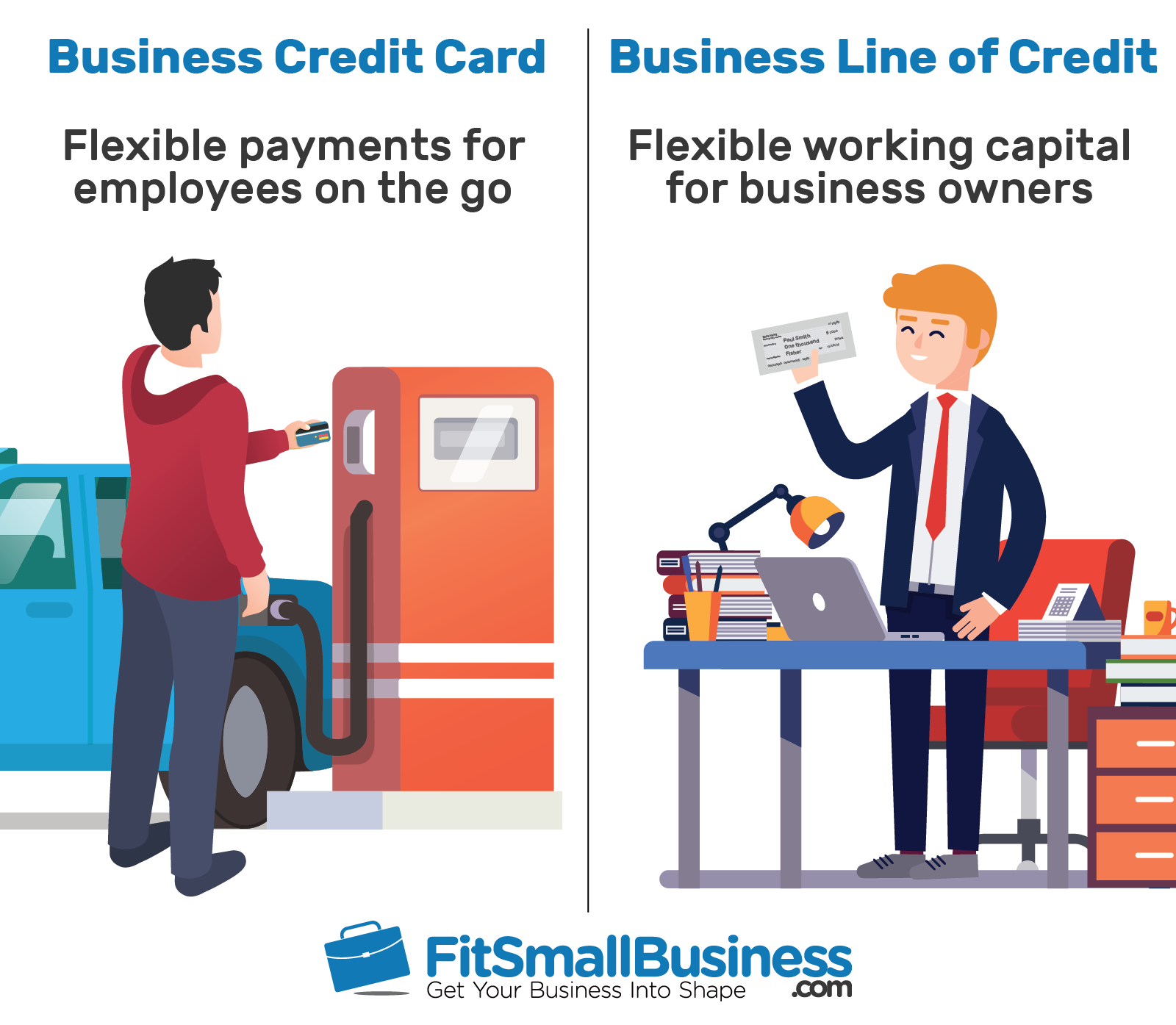 business credit card vs line of credit