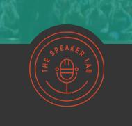 The Speaker Club - interior design marketing
