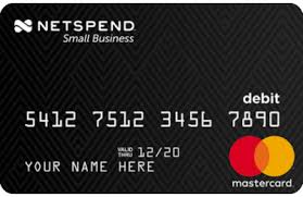NetSpend Small Business Mastercard Prepaid Card