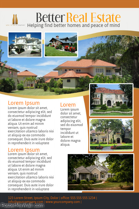 Multiple Property Listing Open House Flyer - open house flyer